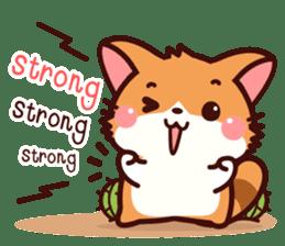Little Fennec Fox (EN) sticker #13941442