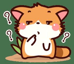Little Fennec Fox (EN) sticker #13941444