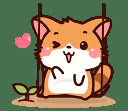 Little Fennec Fox (EN) sticker #13941445