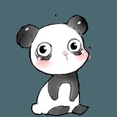 Naughty cute panda