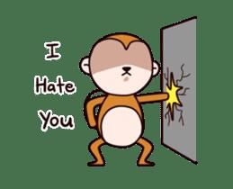 Monkey don't know sticker #13947992