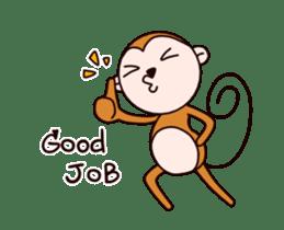 Monkey don't know sticker #13948002