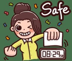 Life of office worker-Nana sticker #13949011