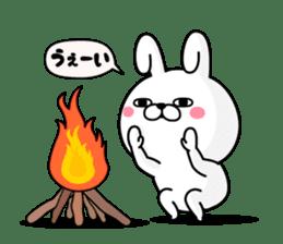 Rabbit100% winter sticker #13962157