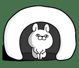 Rabbit100% winter sticker #13962181