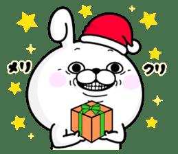Rabbit100% winter sticker #13962182