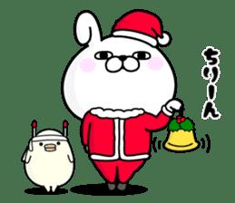 Rabbit100% winter sticker #13962183