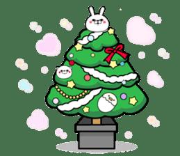 Rabbit100% winter sticker #13962184