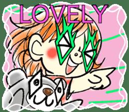 LOVELY WAKACO sticker #13971592