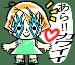 LOVELY WAKACO sticker #13971595