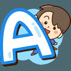 Friendly dad Alphabet