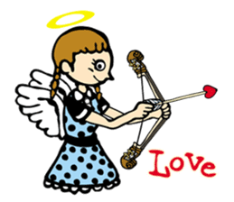 Double Bass Girl (English Ver.) sticker #13976374