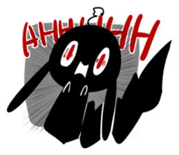 The daily of INK Rabbit sticker #13977510