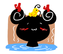 The daily of INK Rabbit sticker #13977513