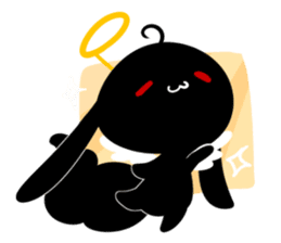 The daily of INK Rabbit sticker #13977530