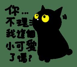 Fumeancats-Cat's jibber-jabber sticker #13982202