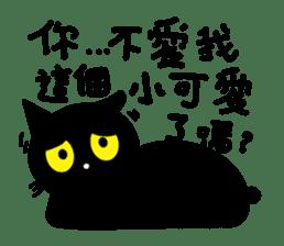 Fumeancats-Cat's jibber-jabber sticker #13982203