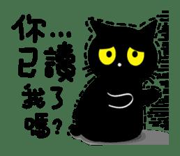 Fumeancats-Cat's jibber-jabber sticker #13982204