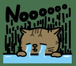 Fumeancats-Cat's jibber-jabber sticker #13982211