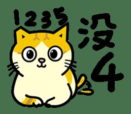 Fumeancats-Cat's jibber-jabber sticker #13982231