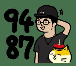 Fumeancats-Cat's jibber-jabber sticker #13982236