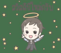 Angelito : Happy New Year sticker #13990024