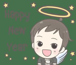 Angelito : Happy New Year sticker #13990026