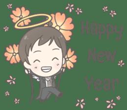 Angelito : Happy New Year sticker #13990027