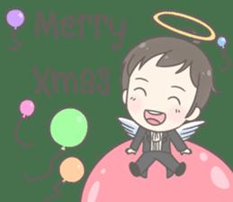 Angelito : Happy New Year sticker #13990033