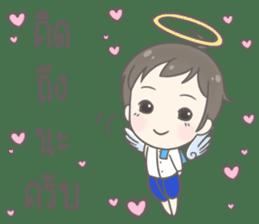 Angelito : Happy New Year sticker #13990038