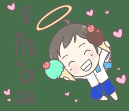 Angelito : Happy New Year sticker #13990044
