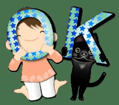 Chubby and cute, Nenemaru sticker sticker #13991543