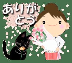 Chubby and cute, Nenemaru sticker sticker #13991545