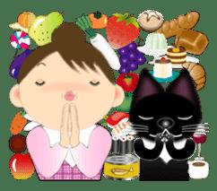 Chubby and cute, Nenemaru sticker sticker #13991546