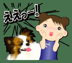 Chubby and cute, Nenemaru sticker sticker #13991549