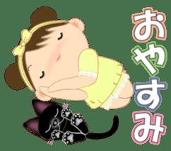 Chubby and cute, Nenemaru sticker sticker #13991554