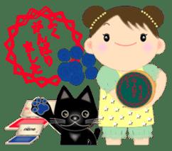 Chubby and cute, Nenemaru sticker sticker #13991555