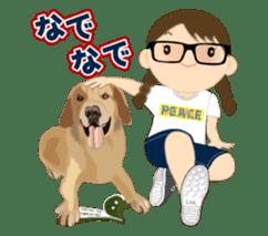 Chubby and cute, Nenemaru sticker sticker #13991558