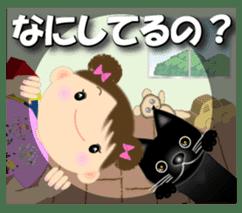 Chubby and cute, Nenemaru sticker sticker #13991559
