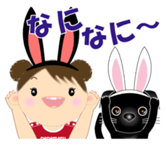 Chubby and cute, Nenemaru sticker sticker #13991560