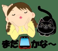 Chubby and cute, Nenemaru sticker sticker #13991565