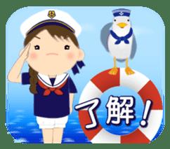 Chubby and cute, Nenemaru sticker sticker #13991577