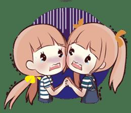 Megu & Mugi sticker #13992893