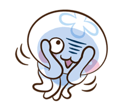 Clara the Jellyfish 3 sticker #13993569