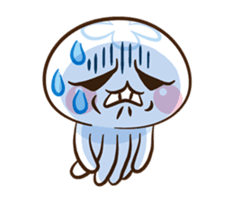 Clara the Jellyfish 3 sticker #13993573
