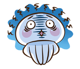 Clara the Jellyfish 3 sticker #13993577
