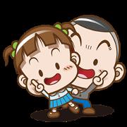 สติ๊กเกอร์ไลน์ Cocoa & Onigiri Boy