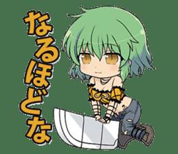 SENRAN KAGURA (Crimson Squad/Hebijo) sticker #14001037