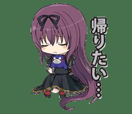 SENRAN KAGURA (Crimson Squad/Hebijo) sticker #14001040