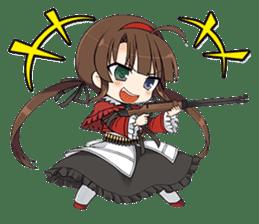 SENRAN KAGURA (Crimson Squad/Hebijo) sticker #14001042